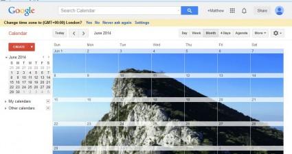 GoogleXCalendar