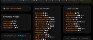Custom background noise generator online