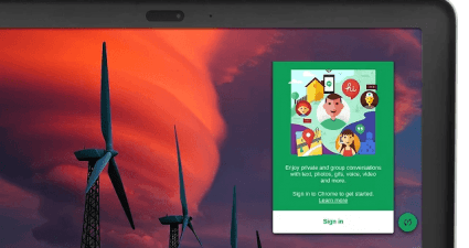 Hangouts for Desktop Preview