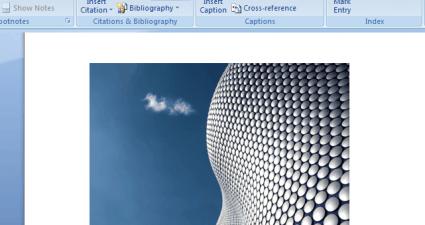 Insert Photo Caption to MS Word 2007 b