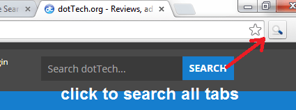 Search all tabs Chrome c