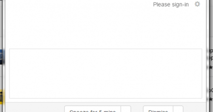 desktop notifications Google Calendar Chrome