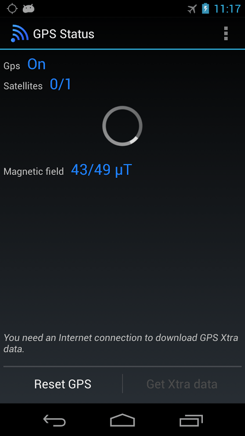 fix GPS Android