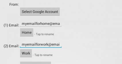 send email reminder android