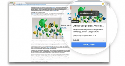 Add images notes to bookmarks Chrome e