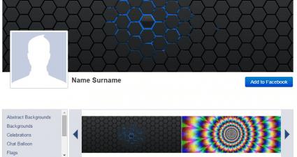 Custom Facebook Covers