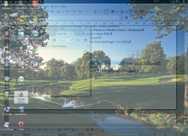 Desktop Topmost