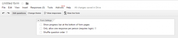 create forms in Google Drive b