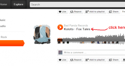 download songs from SoundCloud