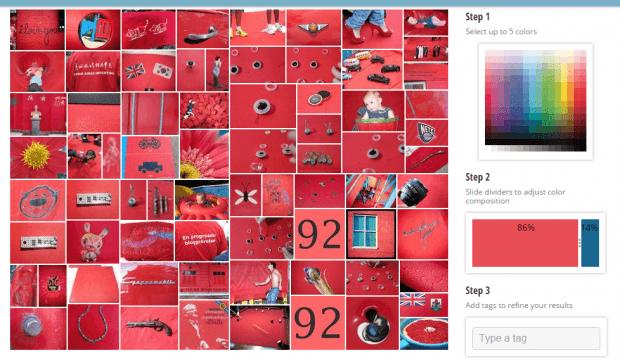 find images online by color