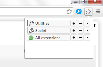 group extensions Chrome e
