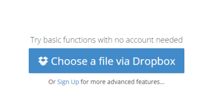 set a password to a Dropbox link