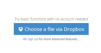 set a password to a Dropbox link