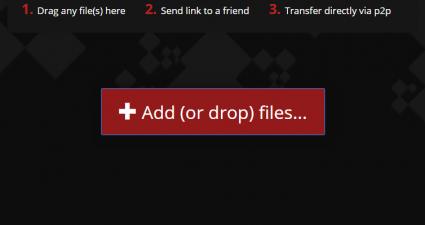 transfer files via peer-to-peer