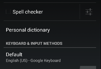Google Keyboard dedicated number row