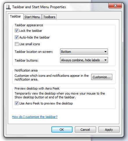 Minimalist MS Word 2007 f