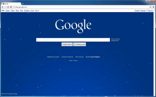 Snow Effect Chrome