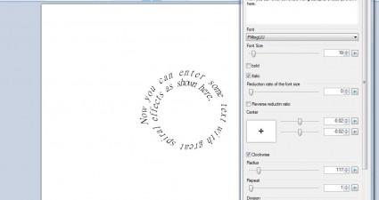 Spiral Text2