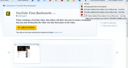 YouTube bookmarks2