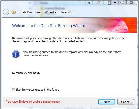 burn to disc2