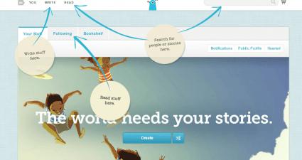 create a digital story book in Chrome