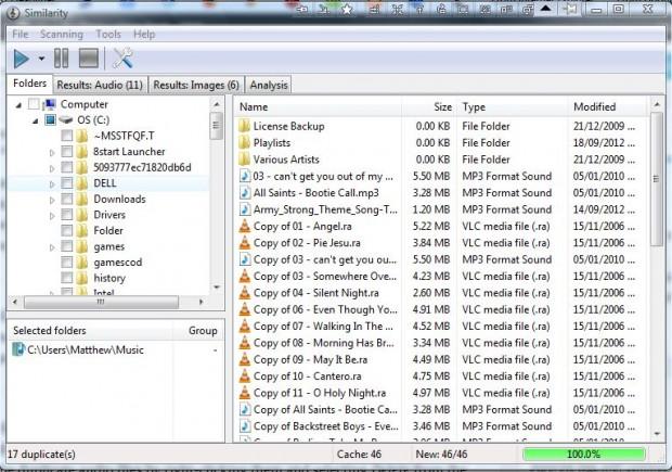 duplicate audio