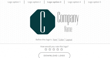 generate a logo for free online d
