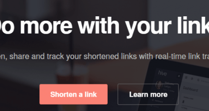 hive online link shortener with real-time tracking
