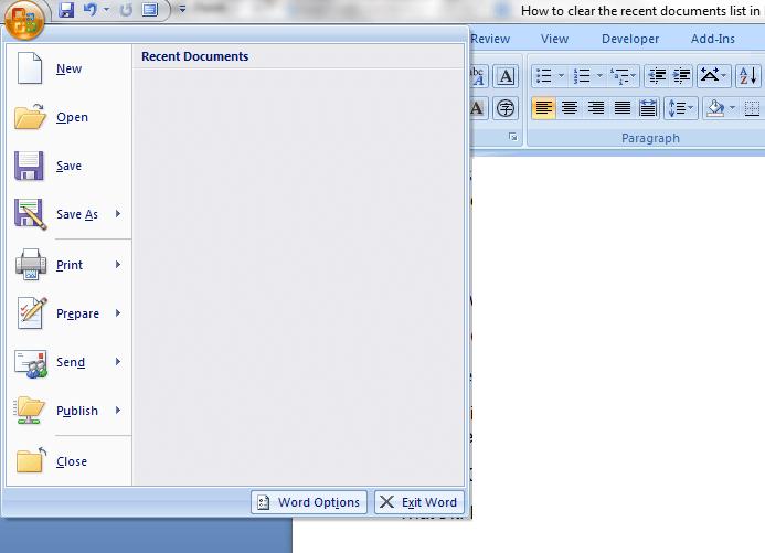 Recent documents