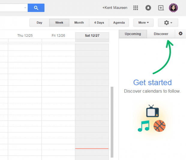 keep track of events and schedules in Google Calendar