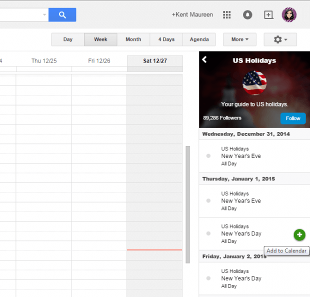 keep track of events and schedules in Google Calendar c