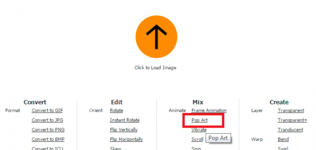 Create Pop Art Online