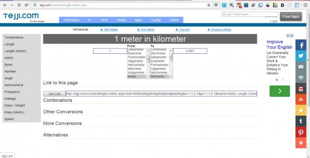 metric converter5
