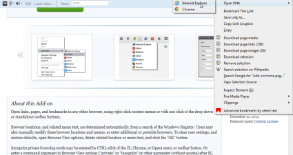 Browser view2