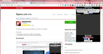 WebScheduler