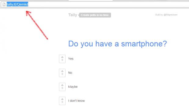 create a poll online c