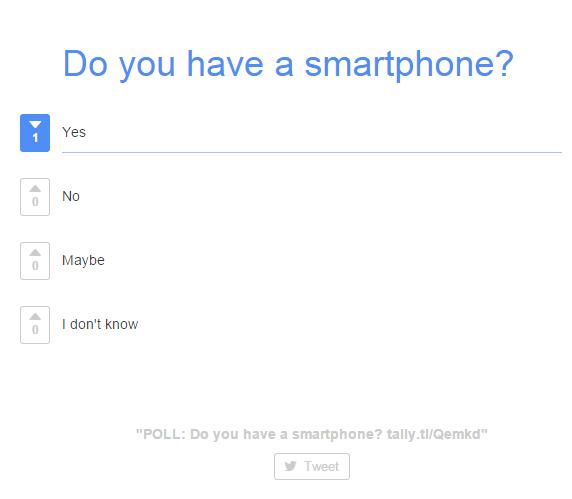 create a poll online d
