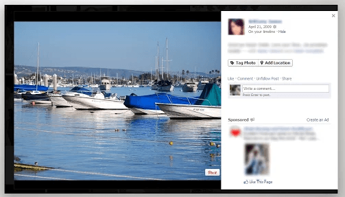 directly pin photos from FB to Pinterest b