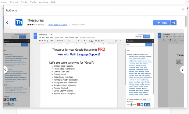install uninstall add-ons in Google Docs d
