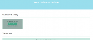 review and remember notes in Evernote d