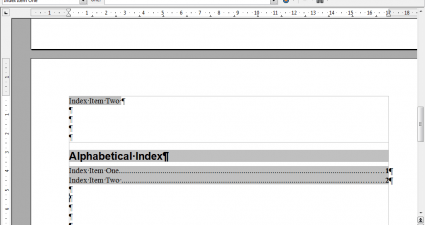 Index One3
