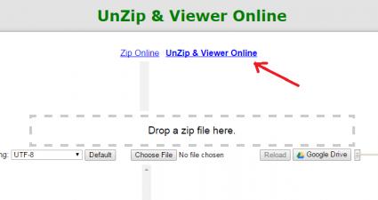 Unzip Zip Viewer