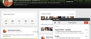View Gmail in Panel Chrome c