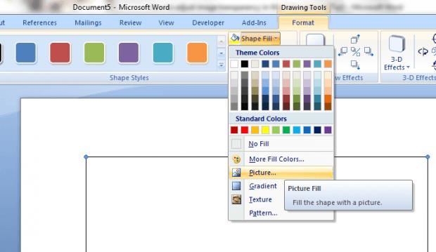 adjust image transparency in Word b