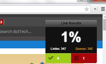 check for broken links Chrome