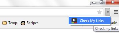 check for broken links Chrome c