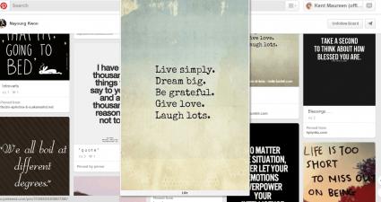 enlarge Pinterest images in Chrome