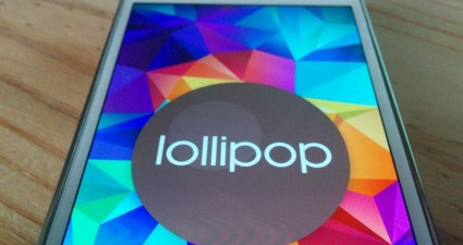 Galaxy S5 with Lollipop