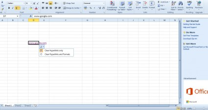 spreadsheet hyperlink