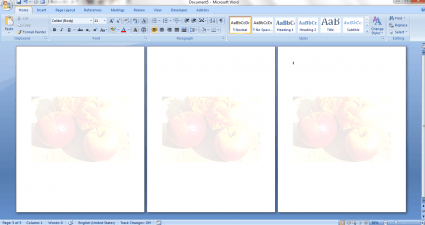 use image as watermark in Word c